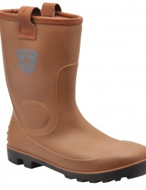 Tan Portwest Neptune Waterproof Rigger Boots